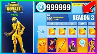 I BUY ALL SKINS OF UPDATE - Fortnite Battle Royale Pass combat SEASON 3!