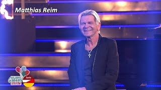 Matthias Reim & Family - Verdammt, ich lieb dich (Das große Schlagerjubiläum! 24.10.2020)
