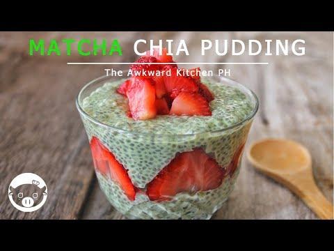 MATCHA CHIA PUDDING | The Awkward Kitchen PH