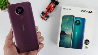 Nokia 3.4 Unboxing | Hands-On, Design, Unbox, Set Up new, Camera Test