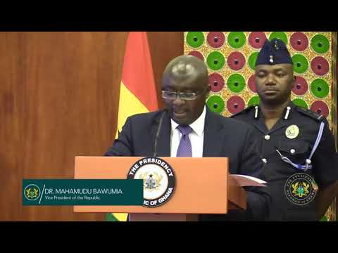 Vice President Speaks on Paperless Port System