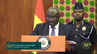 Vice President Speaks on Paperless Port System