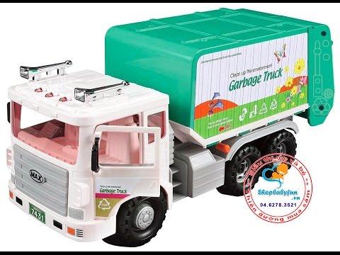 Xe chở rác MAX - http://dochoihanquoc.vn - 0462783521