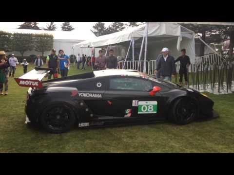 HOY -Lamborghini Gallardo GT3 en el Gran Concurso Internacional de Elegancia