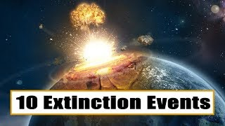 Extinction Events That Nearly Wiped Out Life