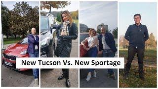 Лучший кроссовер New Kia Sportage 2019 vs New Hyundai Tucson 2019 в новом проекте Автопанорама смотреть