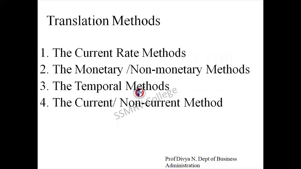 Download International Finance - Translation Exposure