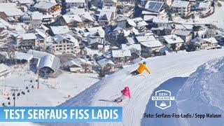 Skigebiet - Serfaus Fiss Ladis: Test Skigebiet