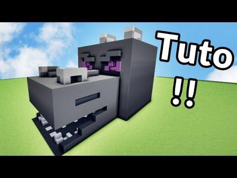 Comment faire une maison dans une Tête de Dragon sur Minecraft ? TUTO !! :)