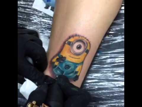 A not permanent tattoo - 1 part 2