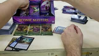Iconic Masters box opening and three Eternal Masters packs - Released 4/15/18 Clover Collectables