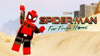 Spider-Man Far From Home Upgraded Suit LEGO Marvel Superheroes!
