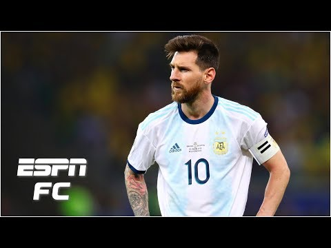 How Lionel Messi fits into Argentina's plans after loss vs. Brazil | 2019 Copa America