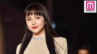 【モデルプレス】モデルの松井愛莉が15日、都内で行われた渋谷ファッシ...