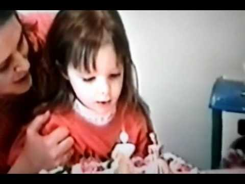 Kid Blows Out Sister S Candles