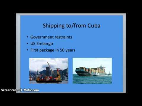 Cuba Shipping/payment