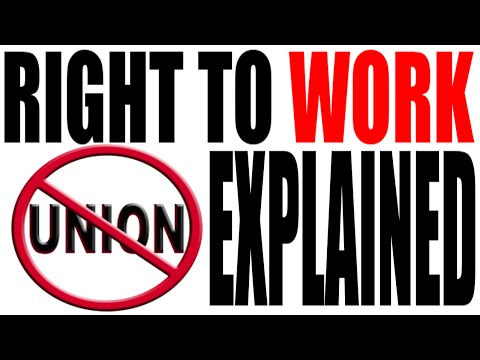 Right to Work Laws: Lions, Tigers and Unions. Oh My!