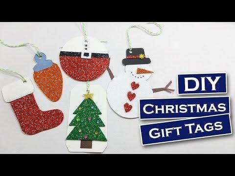 Diy Easy Christmas Tags