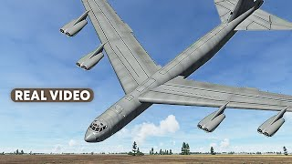 Air Force B-52 Crashes Just Before Landing in Washington | Loose Cannon (With Real Video)