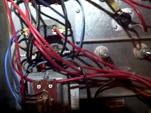 Elec Furnace Wiring and control - YouTube