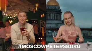 #MoscowPetersburg