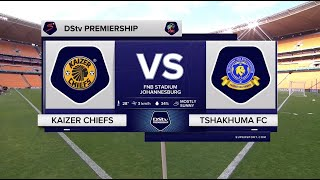 DStv Premiership | Kaizer Chiefs v Tshakhuma  | Highlights