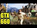 Far Cry 5 - GTX 660 OC | 1080p | 900p | 720p | FRAME-RATE TEST