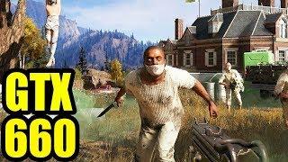 Far Cry 5 - GTX 660 OC 1080p 900p 720p FRAME-RATE TEST