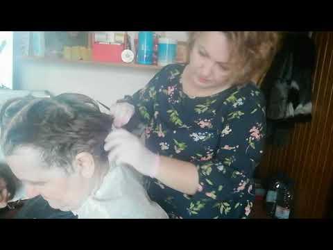Как дома правильно покрасить корни волос
