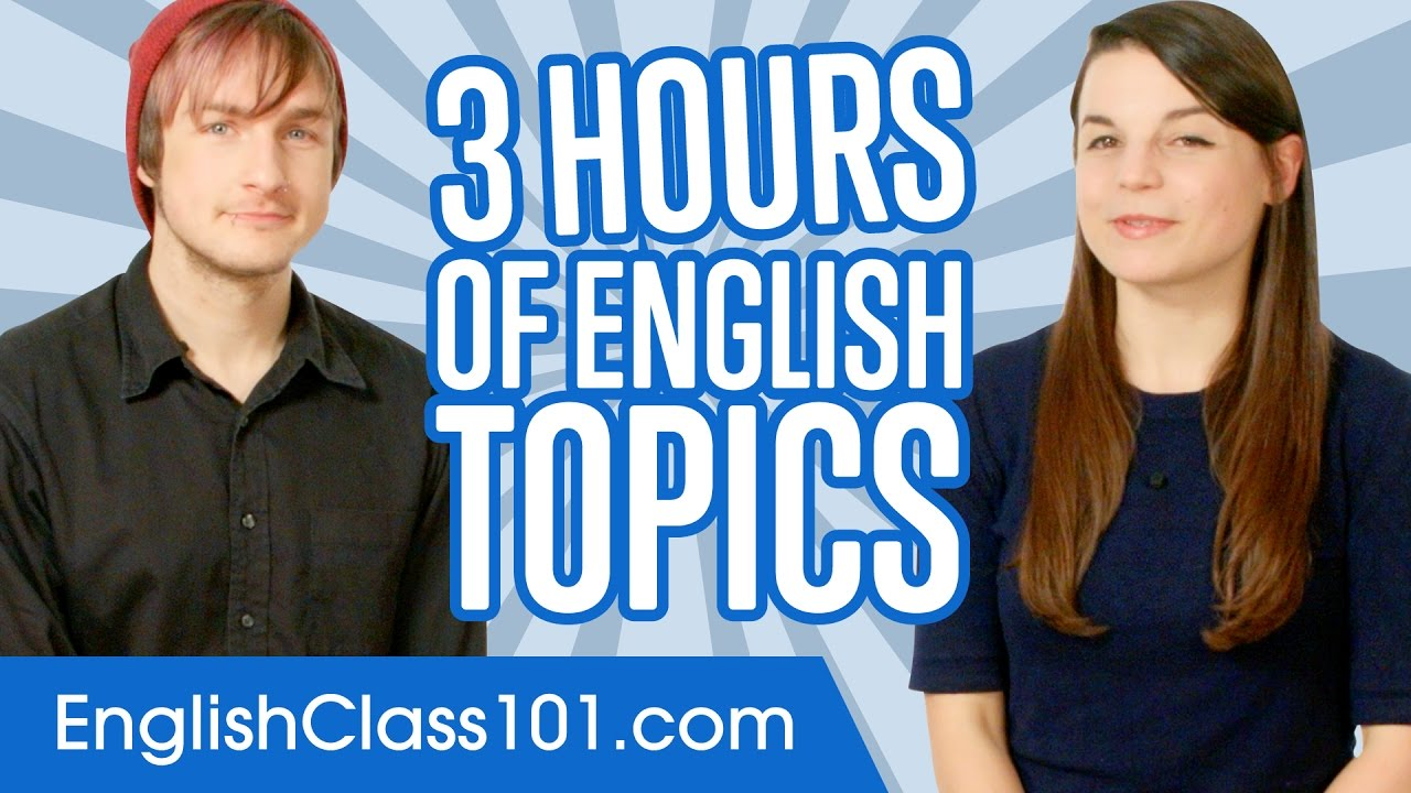 Learn English in 3 Hours - ALL You Need to Master English ...