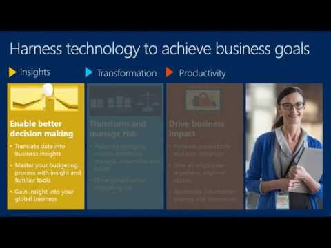 Microsoft Dynamics AX - Finance reimagined to drive impact