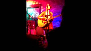 Melanie Martinez-Broadripple Is Burning [with LYRICS] (a cover)-Live at The Evening Muse (1 of 2)