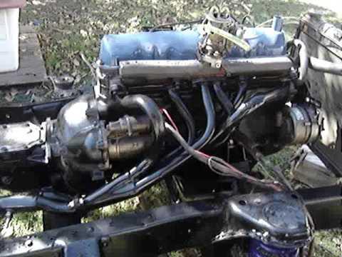 restauracion ford f100 año 79. arranco el motor - YouTube