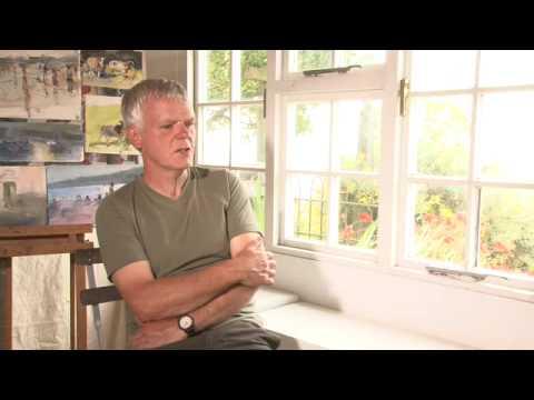 Royal Watercolour Society artist Richard Pikesley and his influences