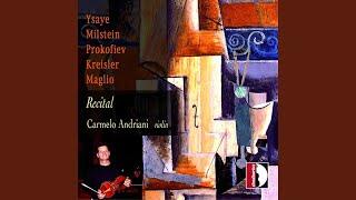 Violin Sonata in E Minor, Op. 27 No. 4, III. Finale. Presto ma non troppo