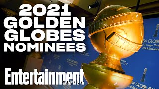 An awards season like never before kicked into high gear wednesday morning with the 2021 golden globe nominations.subscribe to ew ►► http://bit.ly/ewsubscrib...
