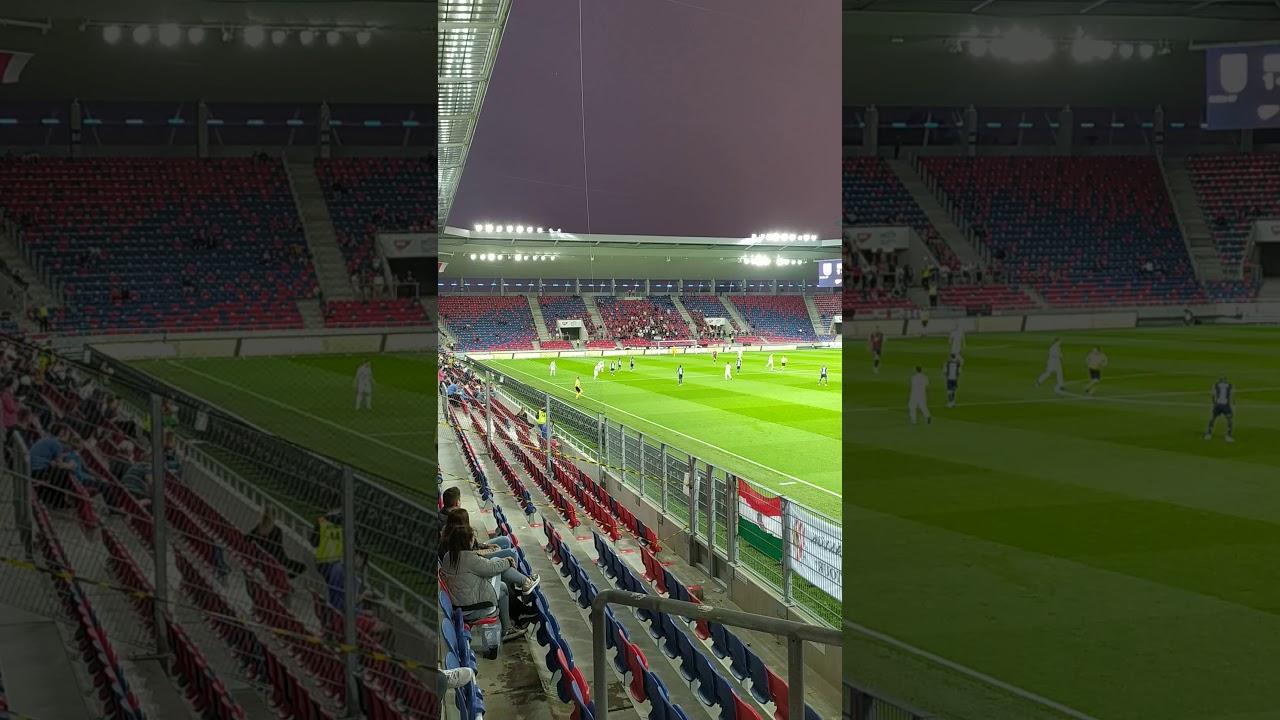MOL Fehérvár FC-DVSC 1-0 Komáromi Gábor éltetése mindkét ...