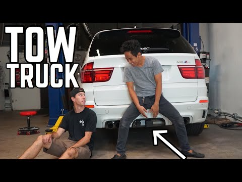 BMW X5M GETS A CHASSIS MOUNT!!!