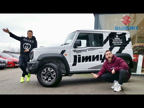 WE BOUGHT A NEW 2019 SUZUKI JIMNY!!