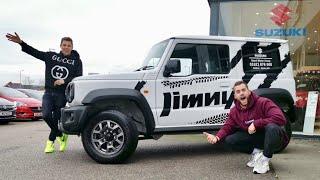 WE BOUGHT A SUZUKI JIMNY TOGETHER!!