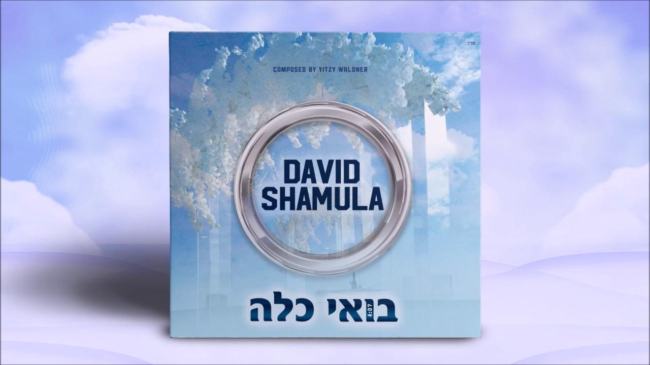 David Shamula - Boi Kalah - Single - דוד שמולא - בואי כלה