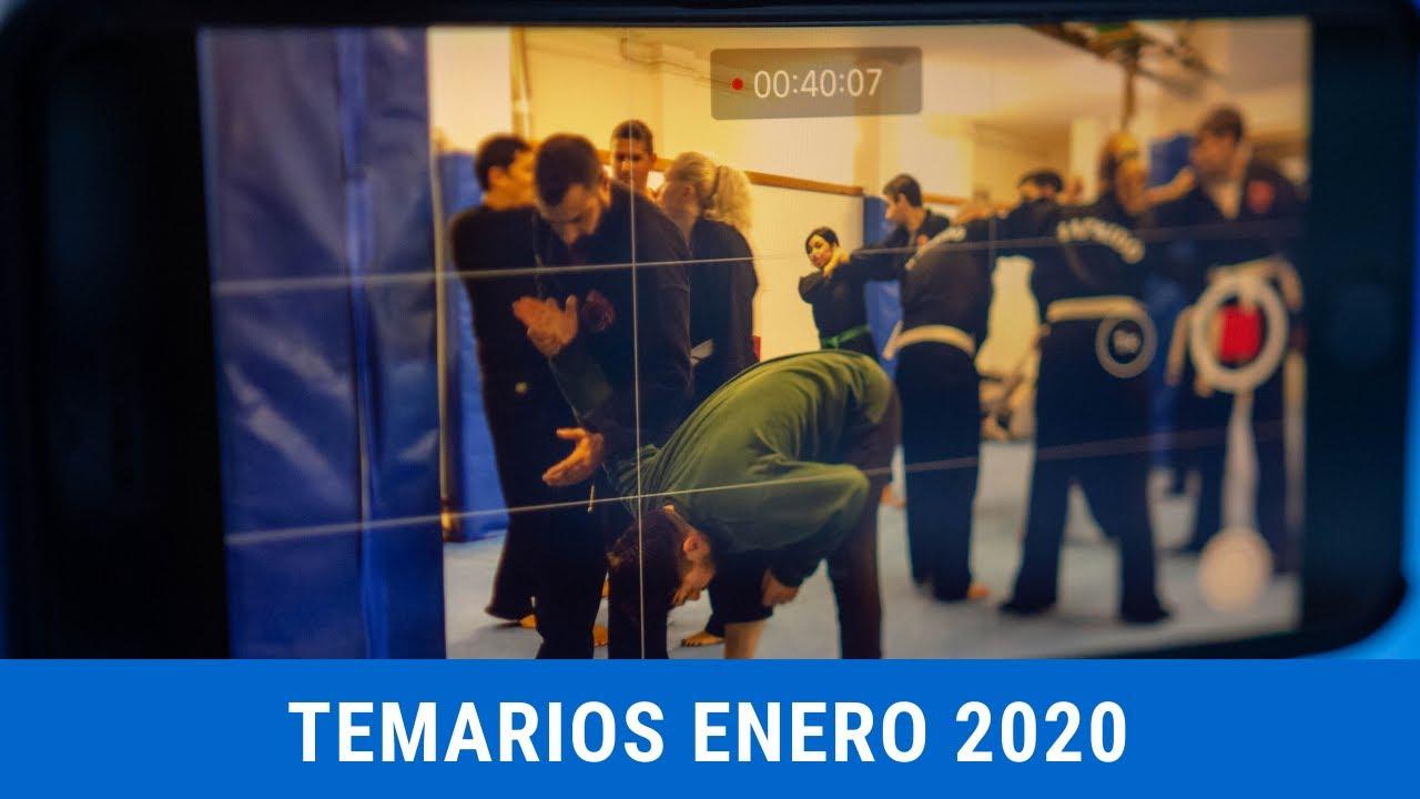 Temarios de Enero 2020