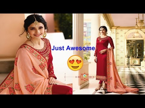 Latest Indian Dress Collection || Vinay Fashion Kaseesh Mumtaz || Eid Collection 2018