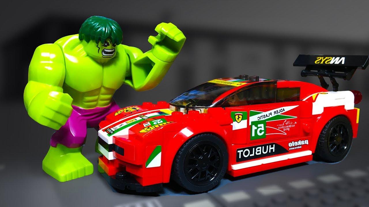 Lego Super HULK FERRARI ROBBERY