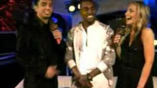Kanye West crashing stage at EMA