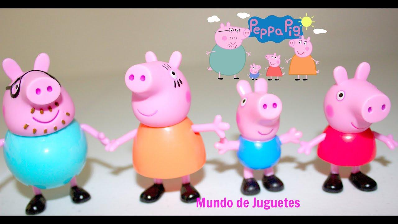 Peppa Pig Y Familia En Espanol Juguetes De Peppa Pig Mundo De