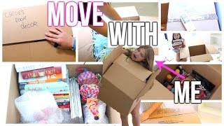 Packing For Moving ♡ Move With Me!!!
