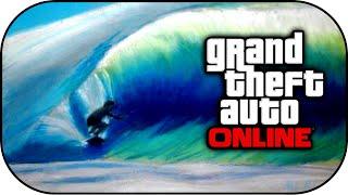 GTA 5 Glitches - New Surfboard Gliding Trick in GTA 5 Online
