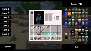 Minecraft single player mods Ep 28: Ray gun in Minecraft