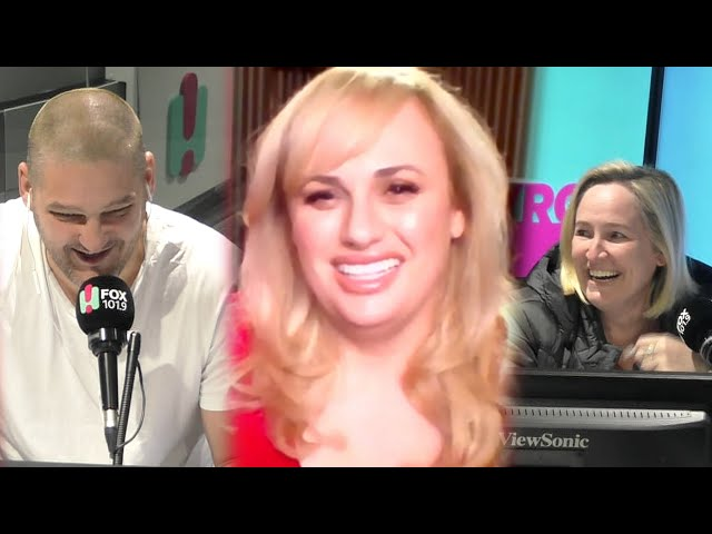 Rebel Wilson Talks All Things 'Last One Laughing' With Fifi, Fev & Byron!